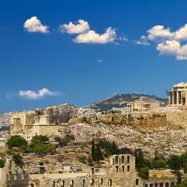 På besök i antikens Grekland